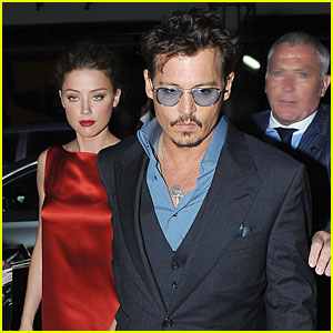 Johnny Depp & Amber Heard: Cipriani Dinner Date!