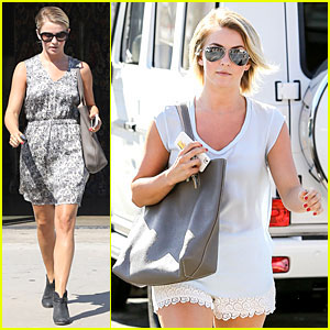 Julianne Hough: Restoration Hardware Shopping Gal!