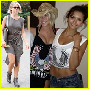 Julianne Hough: Vacay Fun with Nina Dobrev!