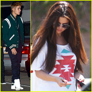 Justin Bieber Attends Selena Gomez' Birthday Party