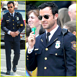 Justin Theroux is the Man in Uniform for 'The Leftovers'