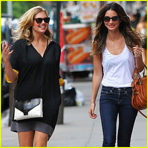 Kate Upton & Lily Aldridge: Gorgeous Barbuto Gals