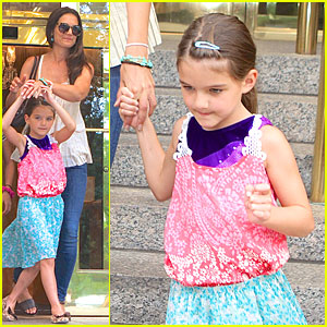 Katie Holmes & Suri: NYC Play Date After July 4th Weekend!