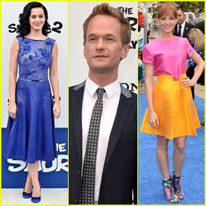 Katy Perry & Neil Patrick Harris: 'Smurfs 2' Premiere