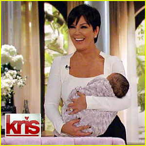 Kris Jenner Debuts Fake Baby North on Talk Show Premiere