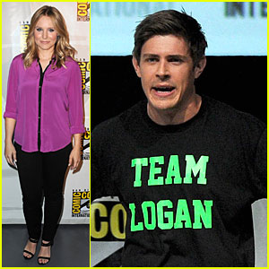 Kristen Bell & Chris Lowell: 'Veronica Mars' Q&A at Comic-Con!