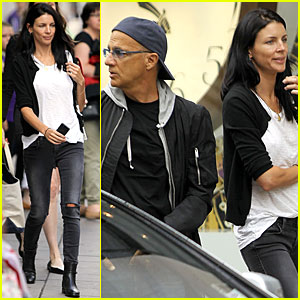 Liberty Ross & Jimmy Iovine: Oxford Street Shopping Pair!