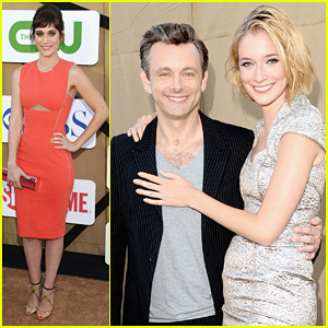 Lizzy Caplan & Michael Sheen: Showtime's Summer TCA Party!