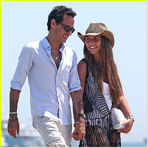Marc Anthony & Chloe Green: Club 55 in Saint-Tropez!