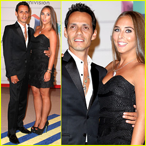 Marc Anthony & Chloe Green: Red Carpet Couple Debut!