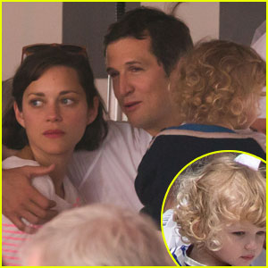 Marion Cotillard & Guillaume Canet: Monaco Jumping Show with Marcel