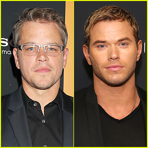 Matt Damon & Kellan Lutz: 'Elysium' NYC Screening!