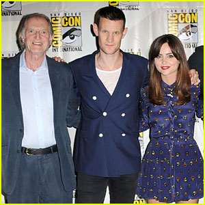 Matt Smith: 'Doctor Who' Panel at Comic-Con!