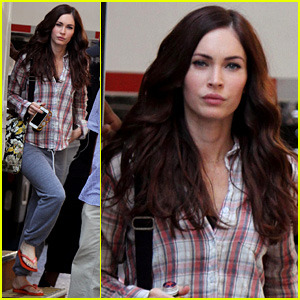 Megan Fox: 'Teenage Mutant Ninja Turtles' in Tribeca!