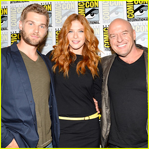 Mike Vogel & Rachelle Lefevre: 'Under the Dome' at Comic-Con