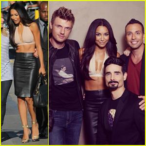 Naya Rivera: 'Jimmy Kimmel Live!' Visit with Backstreet Boys!