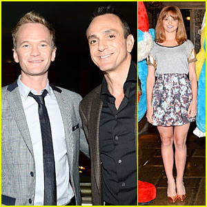 Neil Patrick Harris & Jayma Mays: 'Smurfs 2' Vegas Photo Call!