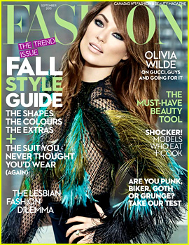 Olivia Wilde Covers 'Fashion' Magazine September 2013