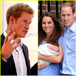 Prince Harry Talks Prince George - His Royal Baby Nephew!