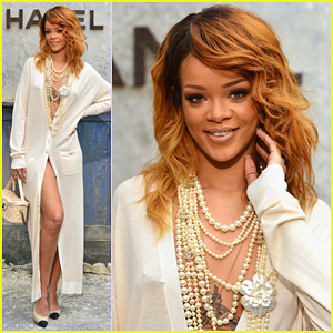 Rihanna: 'Chanel' Haute-Couture Fashion Show!