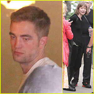 Robert Pattinson & Mia Wasikowska: 'Maps to the Stars' Set!