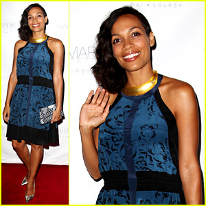 Rosario Dawson: Watermark Bar Grand Opening!