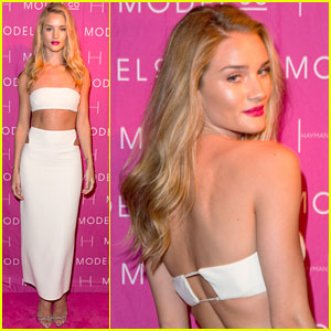 Rosie Huntington-Whiteley: ModelCo Black Tie Dinner