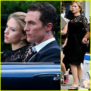 Scarlett Johansson & Matthew McConaughey Continue Dolce&Gabbana Shoot
