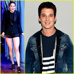 Shailene Woodley & Miles Teller: 'Spectactular Now' NYC Promo