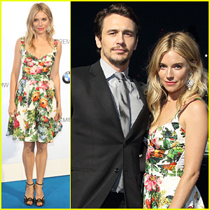 Sienna Miller & James Franco: BMWi3 Global Reveal Party!