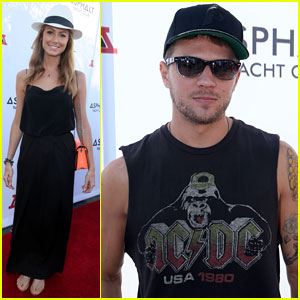 Stacy Keibler & Ryan Phillippe: Asphalt Yacht Club Party