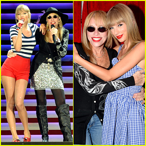 Taylor Swift Sings 'You're So Vain' with Carly Simon! (Video)