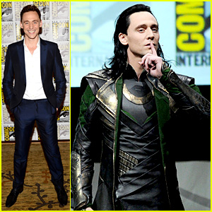Tom Hiddleston Attends 'Thor' Comic-Con Panel as Loki!