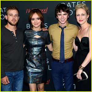 Vera Farmiga & Freddie Highmore: 'Bates Motel' Comic-Con Party!
