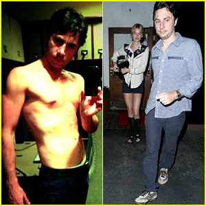 Zach Braff Goes Shirtless, Asks About 'Magic Mike 2' Auditions!