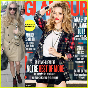 Amanda Seyfried Covers 'Glamour Paris' September 2013