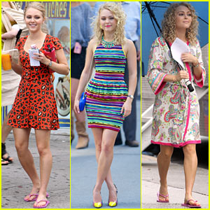 AnnaSophia Robb: Sarah Jessica Parker Wished Me Luck!