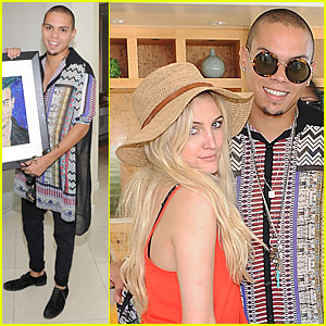Ashlee Simpson: Evan Ross' 25th Birthday Celebration!