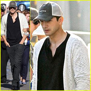 How To Make A Bump Key >> Ashton Kutcher: 'Jimmy Kimmel Live!' Appearance – Watch Now! | Ashton Kutcher : Just Jared