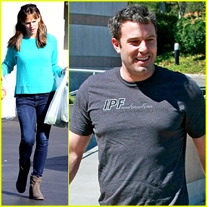 Ben Affleck Has Fun Family Day Af