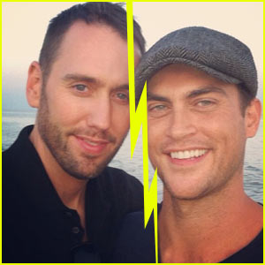 Cheyenne Jackson Splits with Husband Monte Lapka