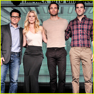 Chris Pine & Zachary Quinto: 'Star Trek' Japan Press Conference!