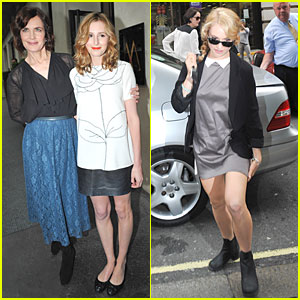Elizabeth McGovern & Laura Carmichael: 'Downton Abbey' Press Launch!