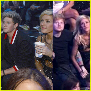 Ellie Goulding: VMAs 2013 with Niall Horan & Ed Sheeran!