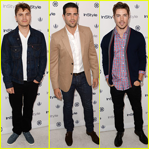 Emile Hirsch & Jesse Metcalfe: 'InStyle' Summer Soiree!
