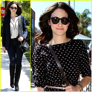 Emmy Rossum: Can't Wait for New York Fashion Week Schedule!
