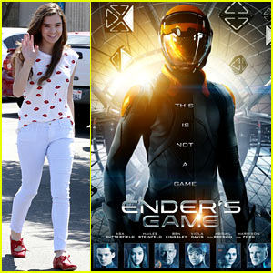 Hailee Steinfeld: New 'Ender's Game' Poster! | Ender's ...