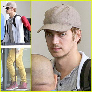 Hayden Christensen: Yellow Pants at LAX Airport!