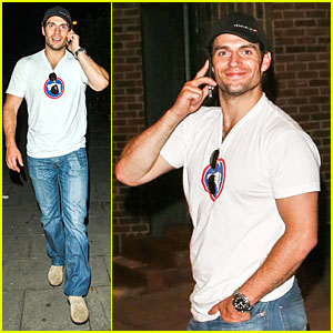 Henry Cavill Exits Bodo's Schloss Nightclub with Mystery Girl!