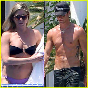 Jennifer Aniston & Justin Theroux Show Off Hot Bodies in Cabo
